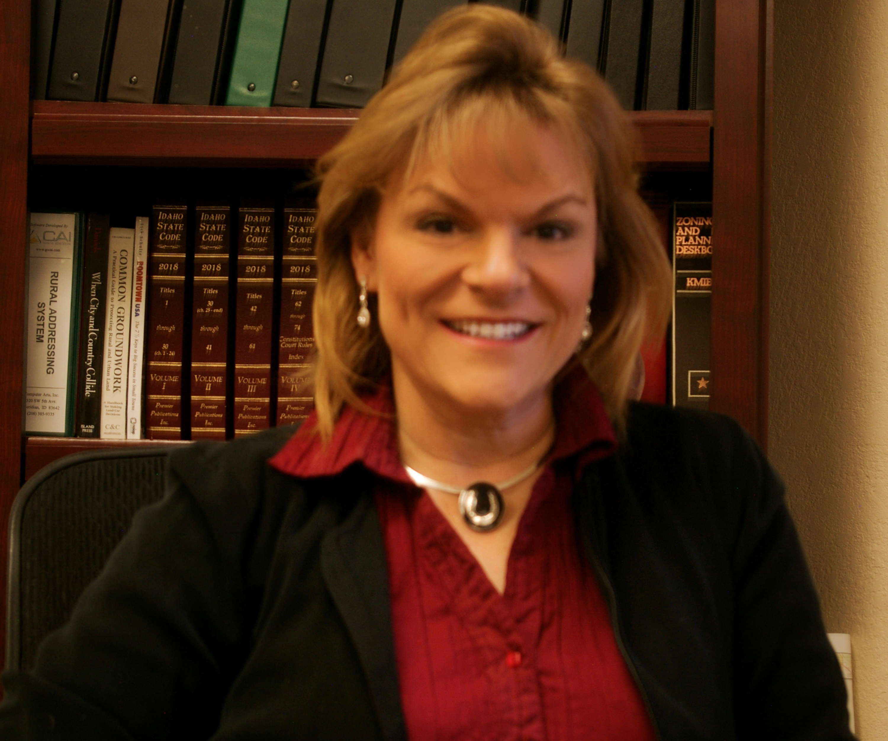 Administrator, Mary Huff